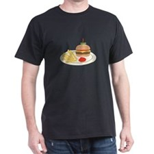 Dinner Hamburger Fries T-Shirt