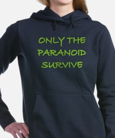 Paranoid SQ.png Women's Hooded Sweatshirt