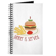 Dinner Is Served Journal