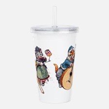 Tableau Four.png Acrylic Double-wall Tumbler