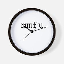 mmfu - My mate fancies you Wall Clock