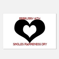 SAD? Singles Awareness Da Postcards (Package of 8)