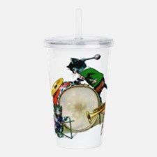 Cool Cats.png Acrylic Double-wall Tumbler
