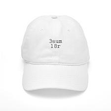 3sum l8r - threesome later Baseball Cap