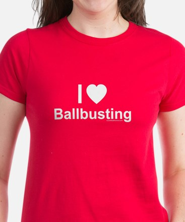 Ballbusting Women's Dark T-Shirt