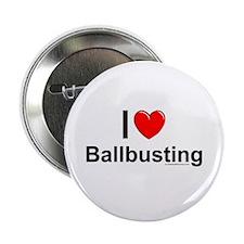 "Ballbusting 2.25"" Button"