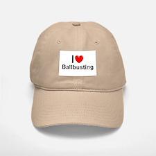 Ballbusting Baseball Baseball Cap