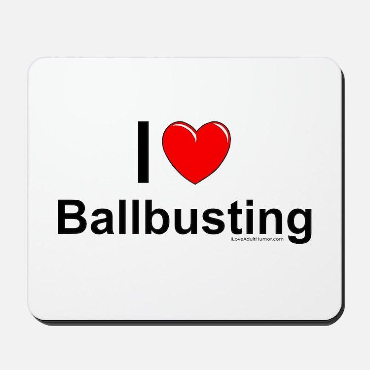 Ballbusting Mousepad
