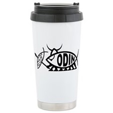 Cute Jesus fish Travel Mug