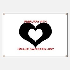 SAD? Singles Awareness Day Banner