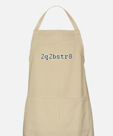 2q2bstr8 - Too cute to be straight BBQ Apron
