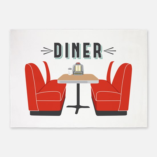 Diner Table 5'x7'Area Rug