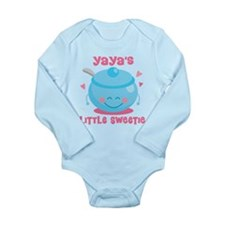 Yaya Little Sweetie Long Sleeve Infant Bodysuit
