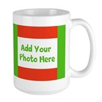 Customize With Your Photo Holiday Mugs