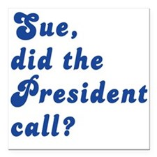"VEEP Did the President C Square Car Magnet 3"" x 3"""