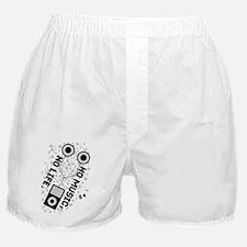 NO MUSIC, NO LIFE. Boxer Shorts