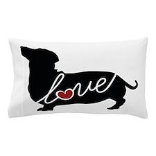 Dashund / Weiner Dog Love Pillow Case