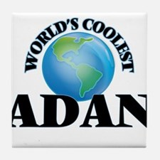 World's Coolest Adan Tile Coaster