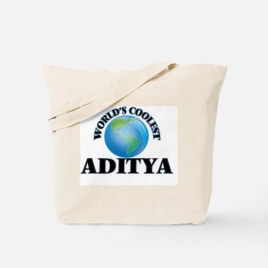World's Coolest Aditya Tote Bag