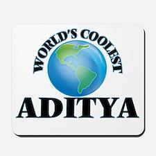 World's Coolest Aditya Mousepad