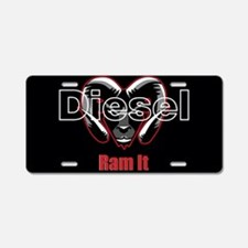 Ram It Aluminum License Plate