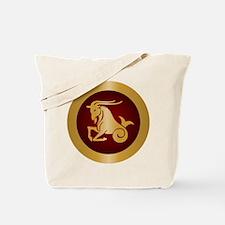 Capricorn Gold Tote Bag