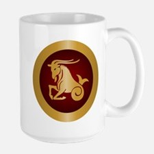 Capricorn Gold Mugs