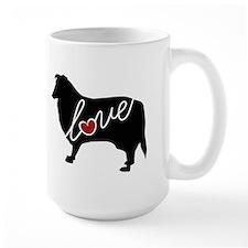 Collie Love Mug