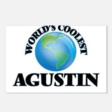 World's Coolest Agustin Postcards (Package of 8)