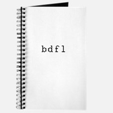 bdfl - Benevolent dictator for life Journal