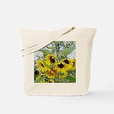 Sunflower Morn Tote Bag