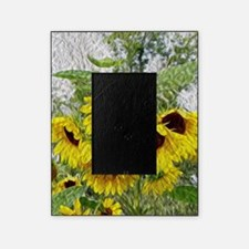 Sunflower Morn Picture Frame