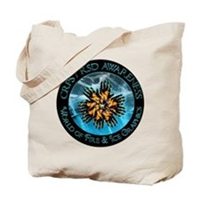 CRPS RSD Awareness World of Fire Ice Blaz Tote Bag