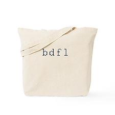 bdfl - Benevolent dictator for life Tote Bag