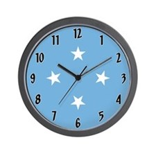 Flag of Micronesia Wall Clock