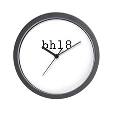 bhl8 - Be home late Wall Clock