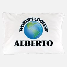 World's Coolest Alberto Pillow Case