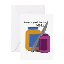 Time For PB & J Greeting Cards