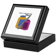 Time For PB & J Keepsake Box