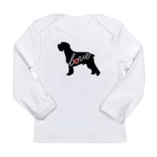 Schnauzer Love Long Sleeve Infant T-Shirt