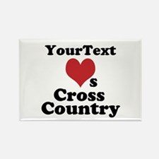 Customize Loves Cross Country Magnets