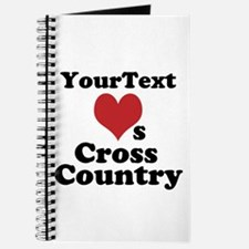 Customize Loves Cross Country Journal