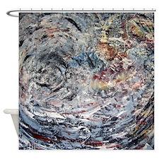 God's Deck On Neutron Star Shower Curtain