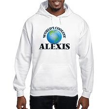 World's Coolest Alexis Hoodie Sweatshirt
