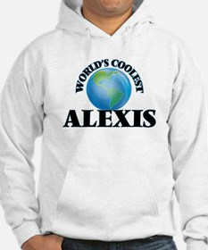 World's Coolest Alexis Hoodie Sweatshirt