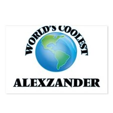 World's Coolest Alexzande Postcards (Package of 8)