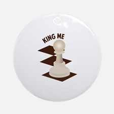 King Me Ornament (Round)