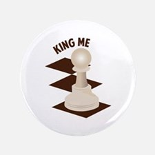 "King Me 3.5"" Button"