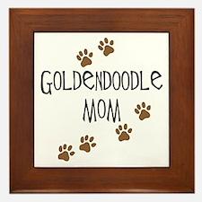 Goldendoodle Mom Framed Tile