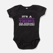 Colorguard Thing Baby Bodysuit